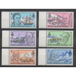 Grande-Bretagne - Territoire antarctique - 1980 - No 90/95 - Régions polaires
