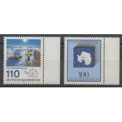 Allemagne occidentale (RFA) - 1981 - No 932 - 946 - Régions polaires