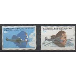 Australie - territoire antarctique - 1979 - No 35/36 - Régions polaires