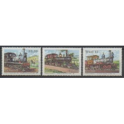 Brazil - 1983 - Nb 1604/1606 - Trains