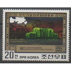 North Korea - 1980 - Nb 1630B - Trains