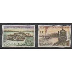 Yugoslavia - 1981 - Nb 1789/1790 - Trains