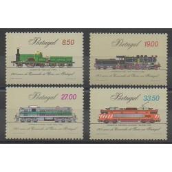 Portugal - 1981 - No 1518/1521 - Chemins de fer