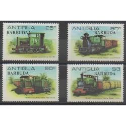 Barbuda - 1981 - No 503/506 - Chemins de fer