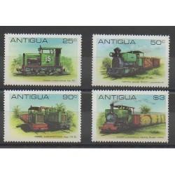 Antigua - 1981 - No 601/604 - Chemins de fer