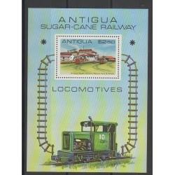 Antigua - 1981 - No BF53 - Chemins de fer