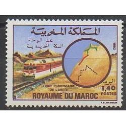 Maroc - 1982 - No 932 - Chemins de fer