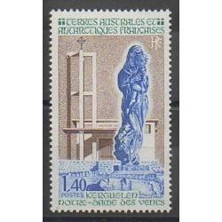 TAAF - 1982 - No 96 - Églises - Régions polaires