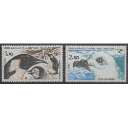 TAAF - 1985 - No 109/110 - Oiseaux