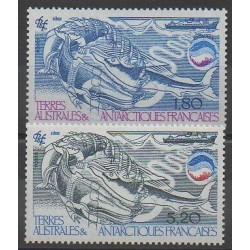TAAF - 1985 - No 113/114 - Mammifères - Animaux marins