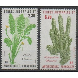French Southern and Antarctic Territories - Post - 1986 - Nb 118/119 - Flora