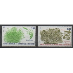 French Southern and Antarctic Territories - Post - 1987 - Nb 125/126 - Flora