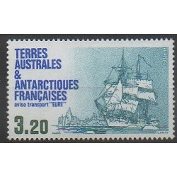 French Southern and Antarctic Territories - Post - 1987 - Nb 129 - Boats
