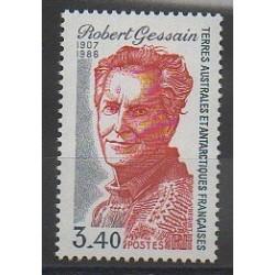 TAAF - 1988 - No 134 - Célébrités - Régions polaires