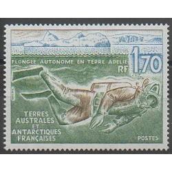 TAAF - 1989 - No 146 - Sports divers