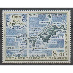 French Southern and Antarctic Lands - Airmail - 1989 - Nb PA103 - Polar regions