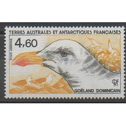 TAAF - Poste aérienne - 1986 - No PA92 - Oiseaux