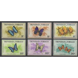 Trinidad and Tobago - 1972 - Nb 297/302 - Insects
