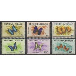 Trinité et Tobago - 1972 - No 297/302 - Insectes