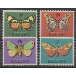 Malawi - 1970 - Nb 134/137 - Insects
