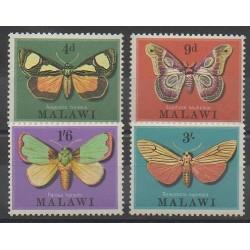 Malawi - 1970 - No 134/137 - Insectes