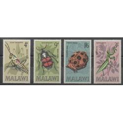 Malawi - 1970 - No 123/126 - Insectes