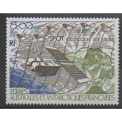 TAAF - Poste aérienne - 1986 - No PA96 - Télécommunications