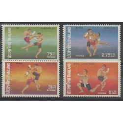 Thaïlande - 1975 - No 727/730 - Sports divers