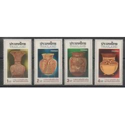 Thaïlande - 1976 - No 784/787 - Art