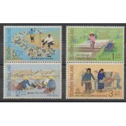 Thaïlande - 1971 - No 590/593