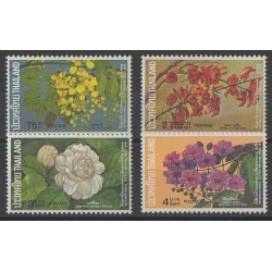 Thaïlande - 1974 - No 702/705 - Fleurs