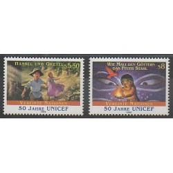 United Nations (UN - Vienna) - 1996 - Nb 238/239 - Childhood