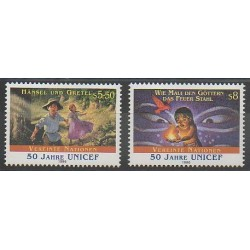 Nations Unies (ONU - Vienne) - 1996 - No 238/239 - Enfance