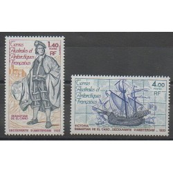 French Southern and Antarctic Territories - Post - 1979 - Nb 84/85 - Boats
