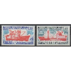 French Southern and Antarctic Territories - Post - 1977 - Nb 66/67 - Boats