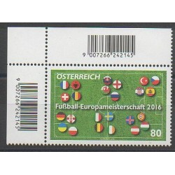 Autriche - 2016 - No 3102 - Football