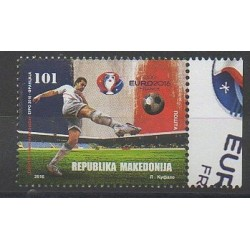 Macedonia - 2016 - Nb 728 - Football