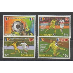Roumanie - 2016 - No 6022/6025 - Football