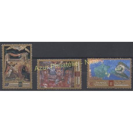 Georgia - 2002 - Nb 313/315 - Religion