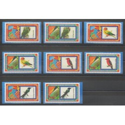 Antilles néerlandaises - 2004 - No 1490/1497 - Oiseaux
