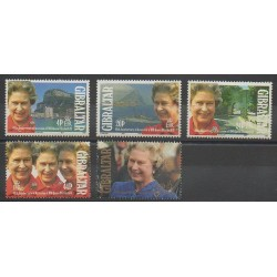 Gibraltar - 1992 - Nb 642/646 - Royalty