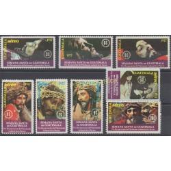 Guatemala - 1977 - Nb 433/434 - PA 611/616 - Religion