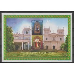 Sri Lanka - 2002 - No BF81 - Noël