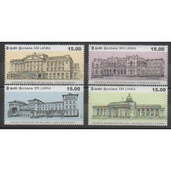 Sri Lanka - 2012 - Nb 1858/1861 - Monuments