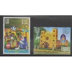 Sri Lanka - 2009 - Nb 1717/1718 - Christmas