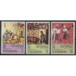 Yémen - République arabe - 1967 - No PA68 - Peinture