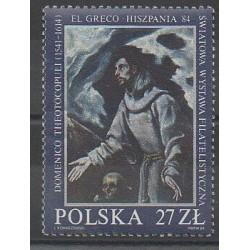Pologne - 1984 - No 2724 - Peinture
