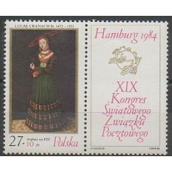 Pologne - 1984 - No 2732 - Peinture