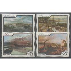 Pologne - 1984 - No 2733/2736 - Peinture