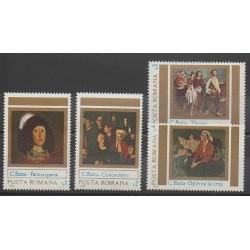 Roumanie - 1983 - No 3475/3478 - Peinture